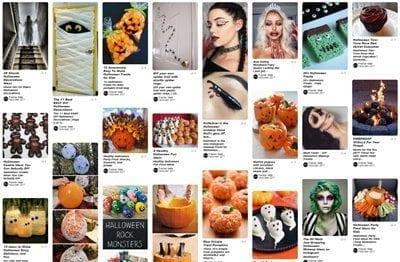 Halloween 2017 Pinterest board 500x